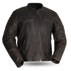 Commuter Vintage Men's Motorcycle Leather Jacket
