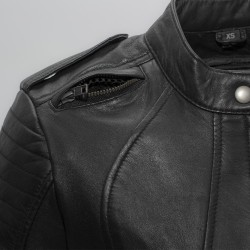 Biker Women's Leather Motorcycle Jacket