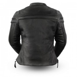 Maiden Women's Motorcycle Leather Jacket