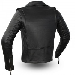 Rockstar Women's Motorcycle Leather Jacket