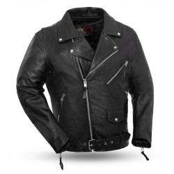 Fillmore Men's Motorcycle Leather Jacket