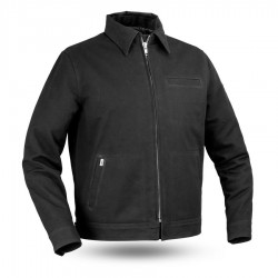 Hanover Men's Canvas Motorcycle Jacket