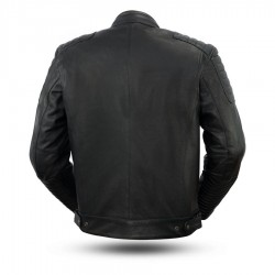 Defender Men's Motorcycle Leather Jacket