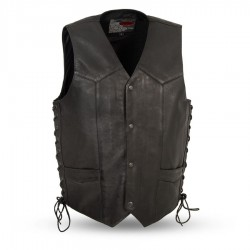 Rancher Western Leather Vest