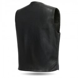 Tombstone Leather Motorcycle Vest