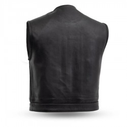 """Lowside """"Club Style"""" Leather Vest"""