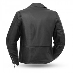 Bikerlicious Women's Leather Motorcycle Jacket