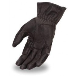 Leather and Mesh Glove