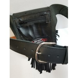 Leather Belt Pocket